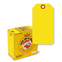Yellow Fluorescent Tag with Fiber Patch