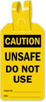 Unsafe Do Not Use Self Locking Tag
