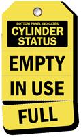 Cylinder Status Plastic Tags