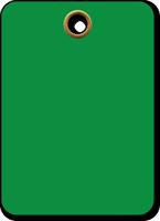 Green Vinyl Inspection Blank Tag
