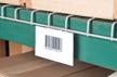 Deck ID Label Holder for Wire Decking in Pallet Racks