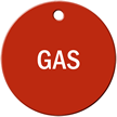 Gas Stock Engraved Valve Circular Tag