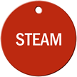 Steam Stock Engraved Valve Circular Tag