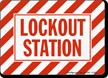 Lockout Station Lockout Sign
