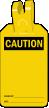 Blank Self Locking Caution Tag