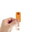Orange Cardstock Tag #1