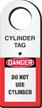 Cylinder Status Tag Holder