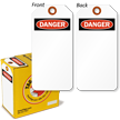 Danger Lock Out Tag-in-a-Box with Fiber Patch