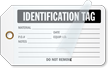Identification Self-Laminating Tags