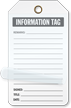 Information Tag Self-Laminating Tags