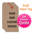 Recycled Kraft Tag Quoter