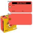 Rejected Tag-in-a-Box Inspection Tag-in-a-Box with Fiber Patch