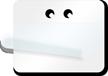 White Blank Tag