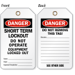 Danger Short Term Lockout Tag