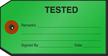 Tested Repair Tag