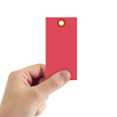 Red Tyvek Shipping Tag #5