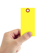 Yellow Tyvek Shipping Tag #5