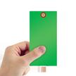 Green Tyvek Shipping Tag #8