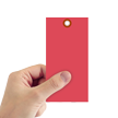 Red Tyvek Shipping Tag #8