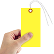 Yellow Tyvek Shipping Tag #8