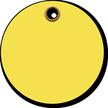 Fluorescent Yellow Heavy Duty Plastic Tags