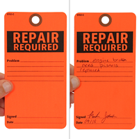 Repair Required Tags