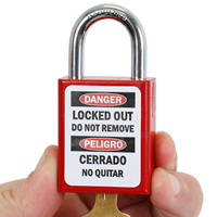 Locked Out Do Not Remove Label