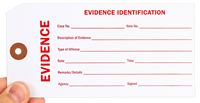 Evidence Identification Tags