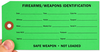 Firearms Weapons Tags