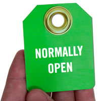 Normally Open 2-Sided Identification Micro Tags