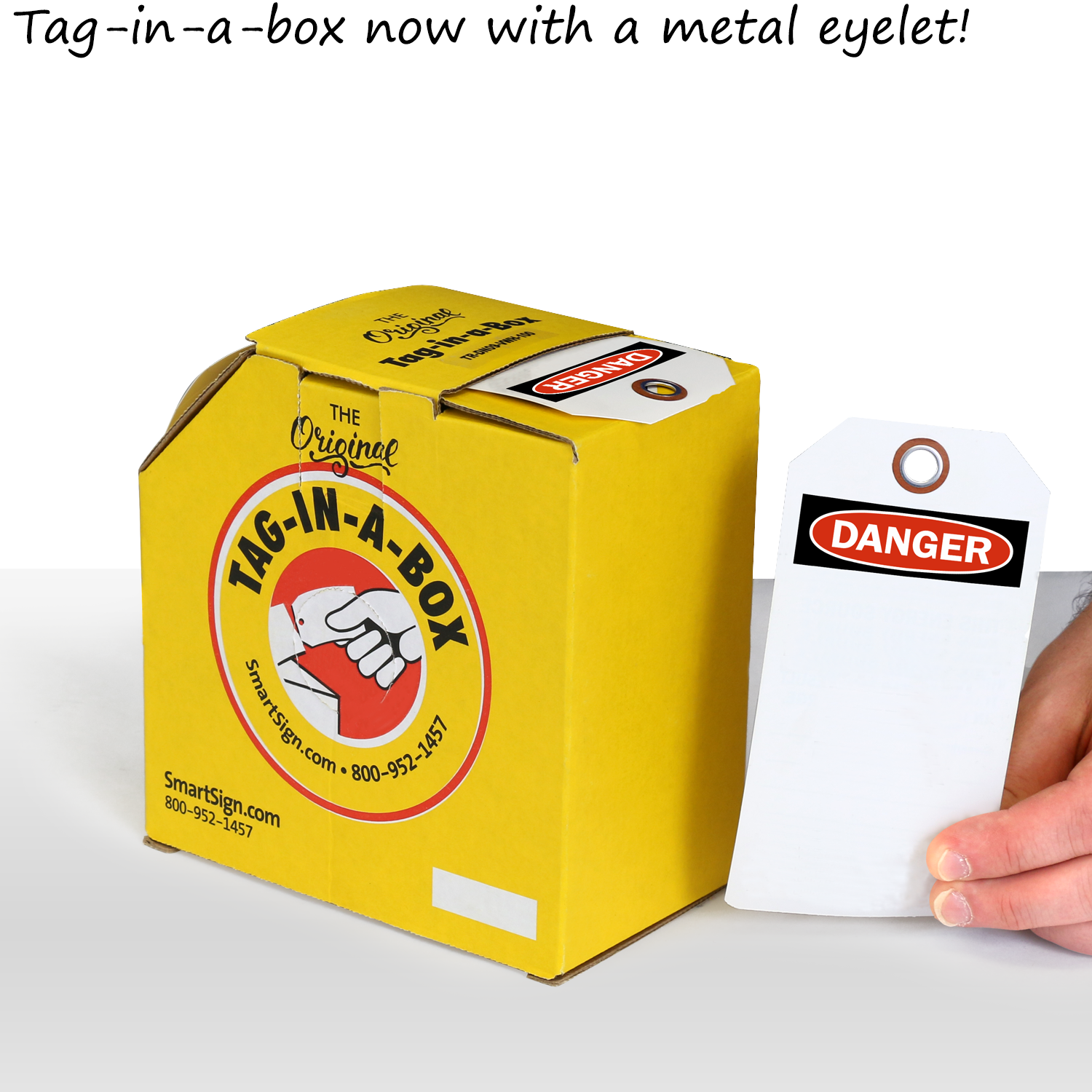 Blank Tag With Danger Header