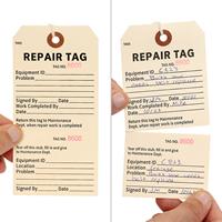 Repair Tags - Top Selling