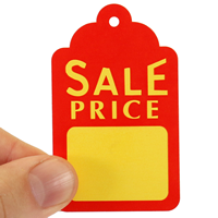 Sale Price Large Tags