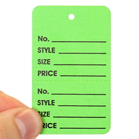 Garment Tags Large