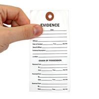 Tyvek Evidence Identification Tag