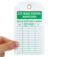 2-Sided Inspection Tag