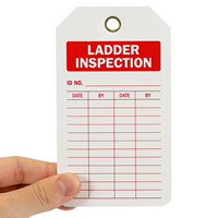 Ladder Inspection Tag