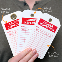 2-Sided Ladder Inspection Tag