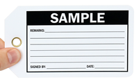 Sample Tag