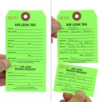 Air Leak Repair Tags