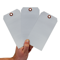 2-Sided Indentable Debossable Aluminum Tag